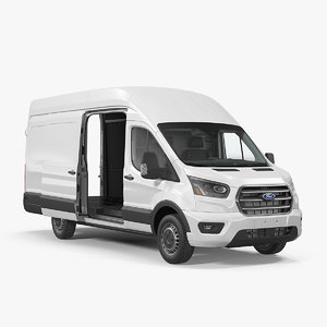 3D transit cargo 2020 car auto