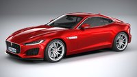 f-type regular coupe 3D model