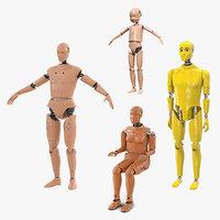 3D crash test dummies 4