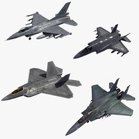 fighters usaf 3D model