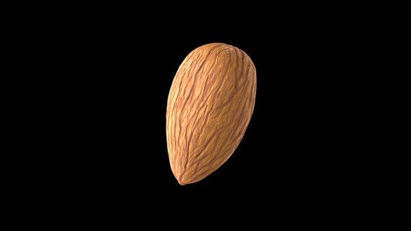 3D almond details