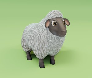 sheep animations model