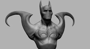 creature batman model