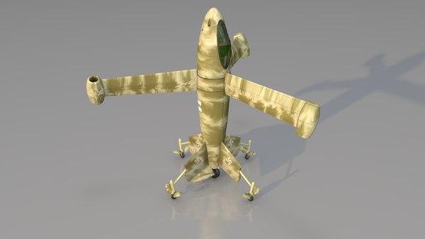 3D vertical take-off landing focke wulf