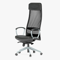 3D ikea office chair model