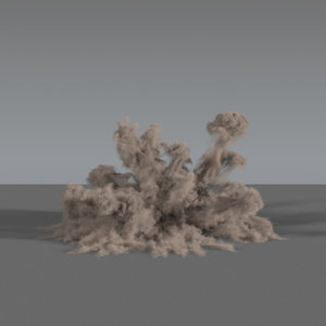 3D dust explosion 02 vdb