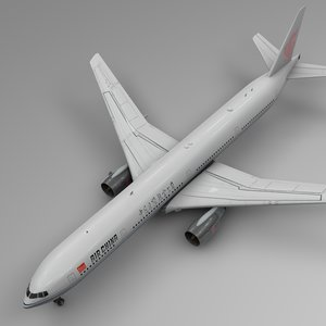 air china boeing 777-300er 3D model