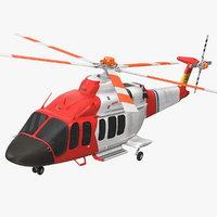 bell 525 relentless paramedic 3D model