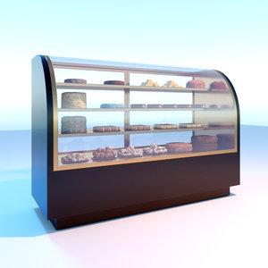 cake chiller 3D model