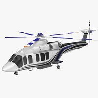 corporate helicopter generic copter model
