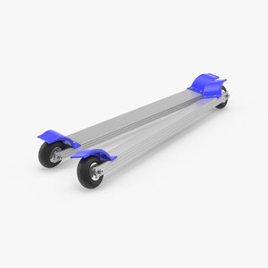 3D roller skis