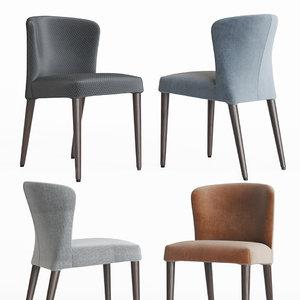 circo circa dining chair 3D model