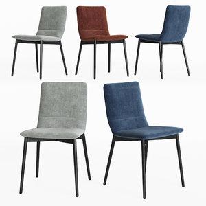 3D model ligne roset bend chair