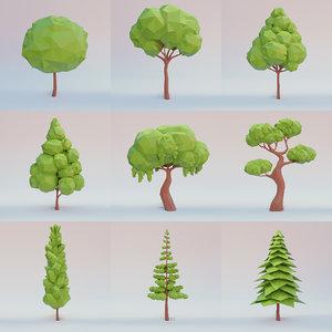 3D set trees