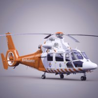 Eurocopter AS 365 City Air Ambulance Helicopter