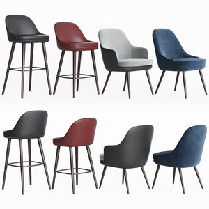 3D 375 walter knoll chairs