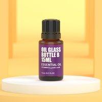 Essential oil glass bottle B 15ml