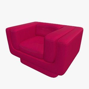 chair sofa seat 3D model