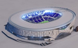 3D model tottenham football stadium
