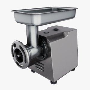 professional meat grinder 3D model