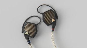 3D audeze lcdi4 headphones model