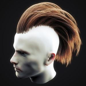 3D undercut hairstyle 5