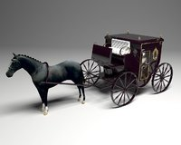 deluxe carriage 3D