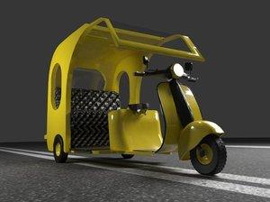 rickshaw motor model