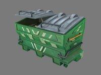Dumpster Green