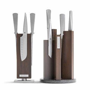 3D model bork knives