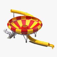 water slide funnel model