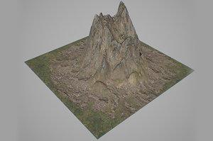 3D mountains landscapes
