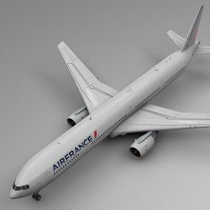 air france boeing 777-300er 3D model