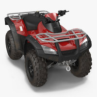 atv bike generic 3D model