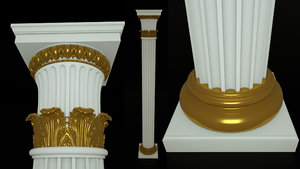 3D column architecture model