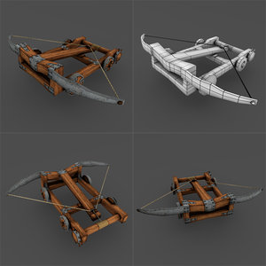ballista weapon 3D model