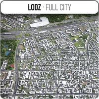3D lodz surrounding -