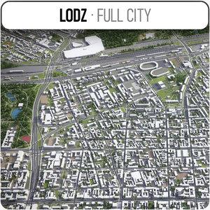 3D lodz surrounding -