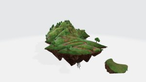 3D create fantasy land model