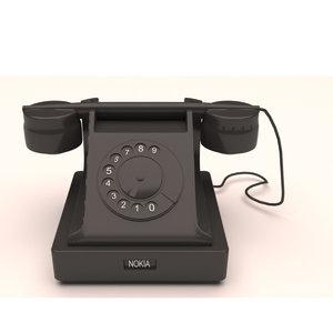 realistic nokia taliphone 3D