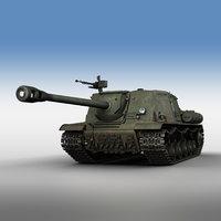 3D isu-122s - 16 gun
