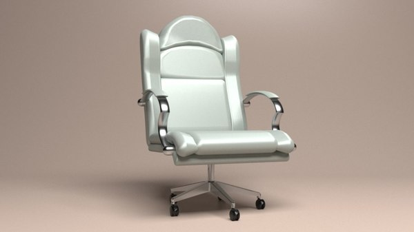 executive chair 2 3D model