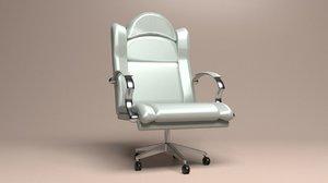 executive chair 2 3D model