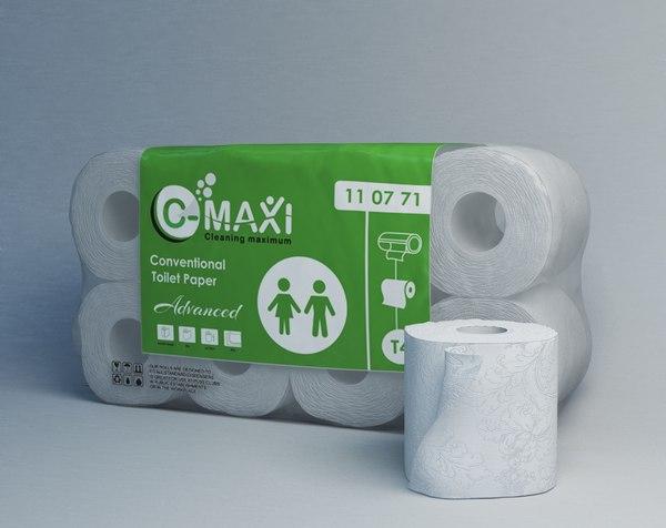 3D toilet paper bag