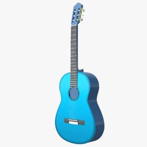 instruments guitar 3D model
