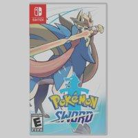 pokemon sword case nintendo 3D model