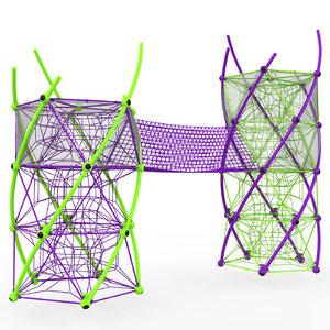 berliner dna tower 3D model