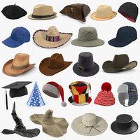 3D hats 6