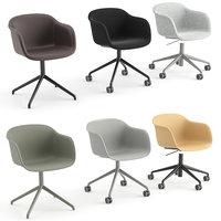 Fiber Armchair Office by Muuto