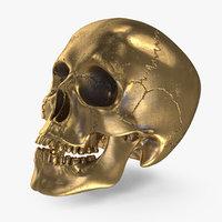 Bronze Human Skull (2)